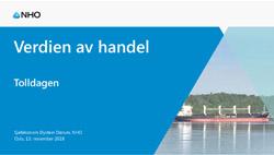 Forside Øystein Dørums presentasjon