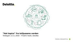 Forside Fredrik Vestlis presentasjon
