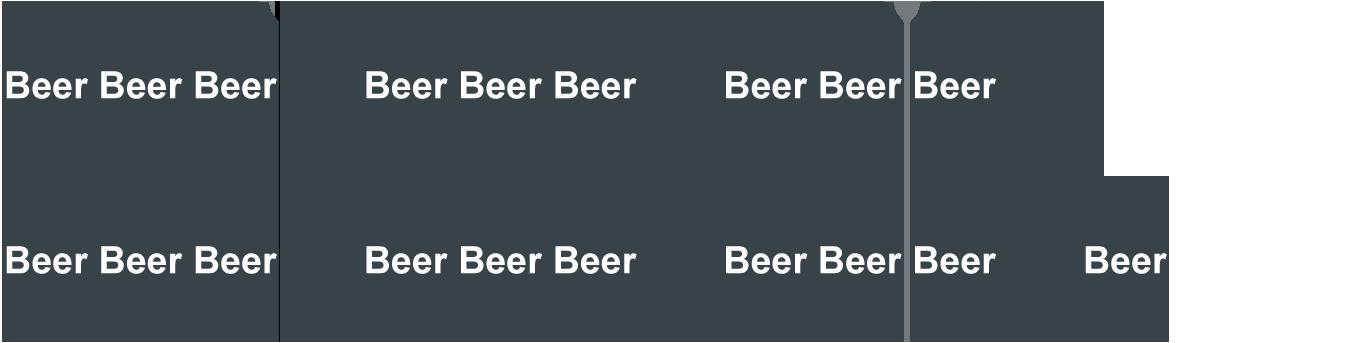 6,5 litra piwa (19 x 0,33 l)