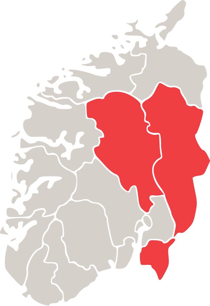 kart over øst norge Tollregion Øst Norge   Tolletaten kart over øst norge