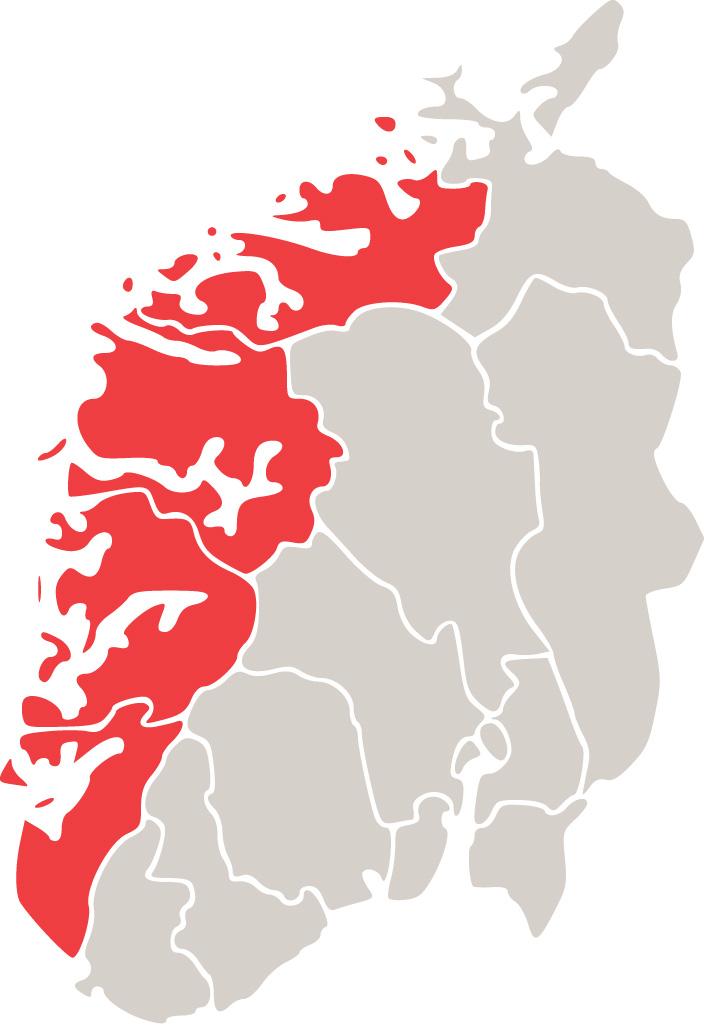 vest norge kart Tollregion Vest Noreg   Tolletaten vest norge kart